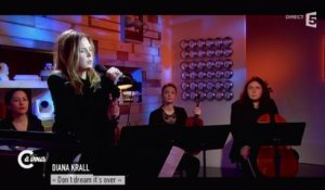 "Diana Krall ""Don't dream it's over"" - C à vous - 09/02/2015"