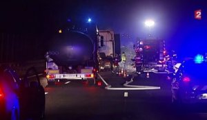 Dramatique accident sur l'A1 : deux morts