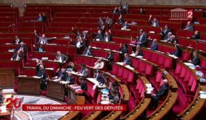 Loi Macron : l'Assemblée nationale adopte l'extension du travail dominical