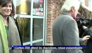 Carlton: DSK attend les réquisitions, la relaxe vraisemblable