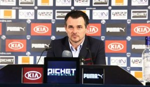 Point Presse - Willy Sagnol - Caen vs Bordeaux