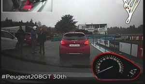Votre video en PEUGEOT 208 GTi 30th  B50021214PE00005
