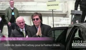 Vidéo : Kanye West & Paul McCartney complices au défilé de Stella McCartney