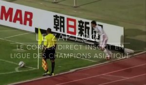 Le corner direct inscrit en LDC asiatique !