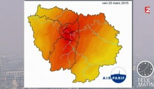 Pic de pollution : pas de circulation alternée à Paris