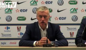 "Football / Deschamps : ""Il y a eu un bon équilibre"" 29/03"