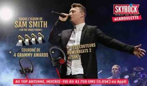 Gagne ton SAM SMITH « In The Lonely Hour » dans la Roulette !