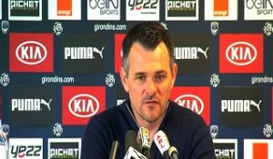 Point Presse - Willy Sagnol - Bordeaux vs Metz