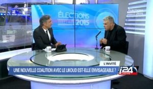 Interview de Yaïr Lapid sur i24news