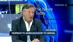 Exclusive interview with Norwegian Ambassador to Israel, Svein Sevje