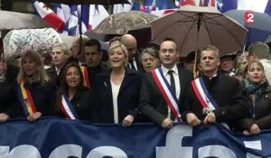 Un 1er mai du Front national mouvementé