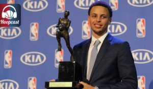 Stephen Curry élu MVP NBA 2015