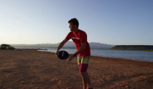 Des trick shot de dingue en Frisbee avec Brodie Smith! in 4K