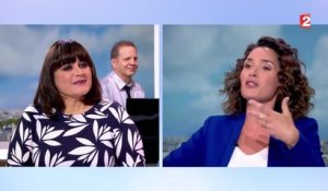 Interview Lisa Angell au JT de France 2