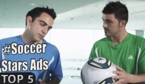 Soccer stars ads: top 5 (Messi, Rooney, Beckham...)