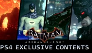 Batman Arkham Knight - PS4 Exclusive Content Trailer [Full HD]