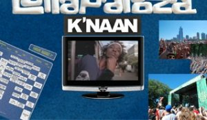 K'naan - Interview (Lollapalooza)