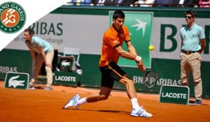 Temps forts N. Djokovic - A. Murray Roland-Garros 2015 / Demi-finales
