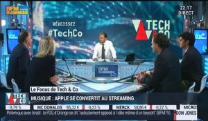 Apple réussira-t-il son entrée dans le streaming musical ?: François Sorel, Virginie Robert, Denis Ladegaillerie et Ahmed Dahbi - 08/06