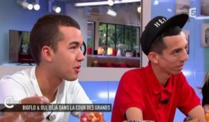 L'interview de Bigflo & Oli - C à vous - 08/06/2015