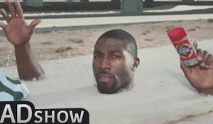 Greg Jennings stuck in cement