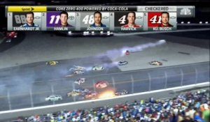 Terrible accident de Nascar à Daytona