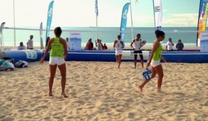 Le beach tennis - la tactique : ne pas donner le point