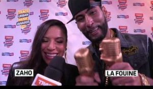 Zaho et La Fouine (Trace Urban Music Awards 2013)