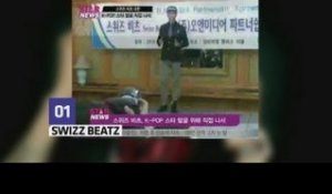 Swizz Beatz fait la promo de la Kpop (Top New)