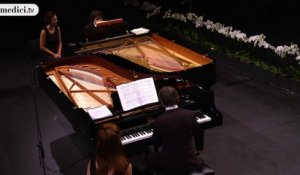 Babayan and Trifonov - Suite for two pianos - Rachmaninov - Verbier Festival