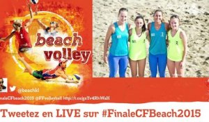 LIVE Beach Volley Finales 2015 - St Quay Portrieux (REPLAY) (2015-08-02 15:58:11 - 2015-08-02 17:17:34)