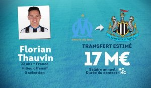 Officiel : Thauvin file à Newcastle !