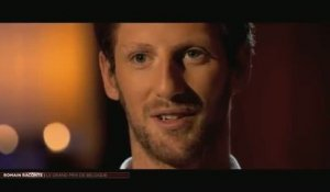 Auto - F1 : Romain Grosjean raconte... le Grand Prix de Belgique