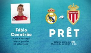 Officiel : Fabio Coentrao prêté à l'AS Monaco !