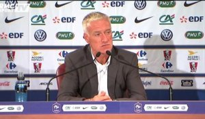 "Equipe de France - Deschamps : ""Martial a un potentiel intéressant"""