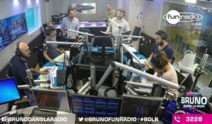 La malédiction de Bruno (08/09/2015) - Best Of en Images de Bruno dans la Radio