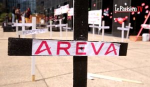 Areva : manifestation contre les suppressions de postes
