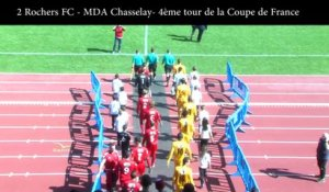 Coupe de France : 2 Rochers FC - MDA Chasselay 0-5