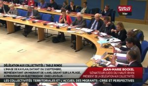 Table ronde sur l'accueil des migrants - Audition