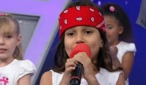 "Dinho Rose, 7 ans, reprend ""Welcome To The Jungle"" des Guns N'Roses"