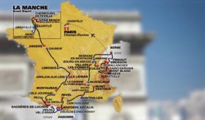 Le parcours 2016 en 3D / The 2016 route in 3D