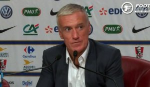 La mise au point de Didier Deschamps sur l'affaire Benzema-Valbuena