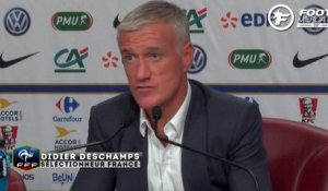 Deschamps et l'absence de Lacazette