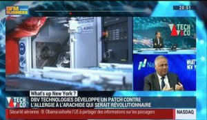 What's Up New York: Le patch de DBV Technologies séduit les Etats-Unis - 24/11