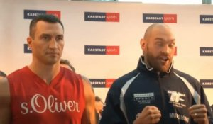 Boxe - ChM - Lourds : Klitschko-Fury, le trash-talk