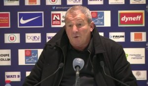 Foot - L1 - MHSC : Courbis «On continue à ramer»