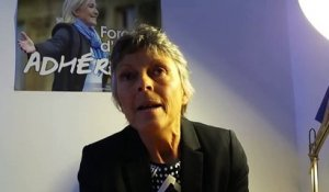 Réaction de Marie Françoise Kurdziel (Front National)