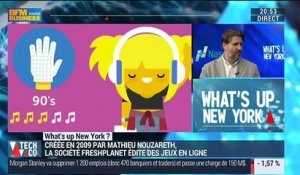 "What's Up New York: ""L'application SongPop Party est une vraie expérience communautaire"", Mathieu Nouzareth - 08/12"