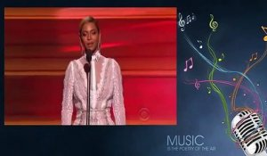 Beyonce Amazing Speech before Announcing Record Of The Year - Grammy Awards 2016