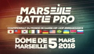 Marseille Battle Pro - 1 vs 1 demi finale : FlexOlic vs TipTopT